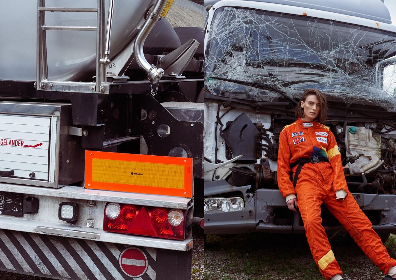 ANDREA TZELEPIDES Racer Girl